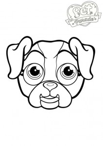 coloring page border collie 2