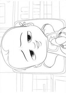 Dibujo para colorear jefe-bebé-04