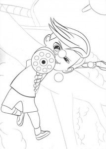 Dibujo para colorear jefe-bebé-06