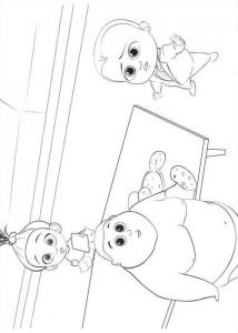 Dibujo para colorear jefe-bebé-08