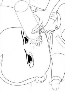 Dibujo para colorear jefe-bebé-14