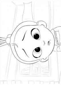 Dibujo para colorear jefe-bebé-16