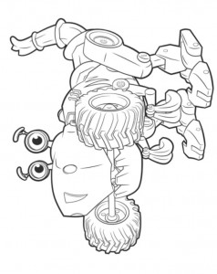 coloring page botasaur