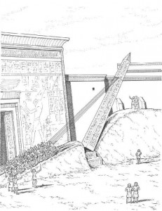 målarbok Obelisk