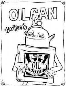 kleurplaat boxtrolls oilcan