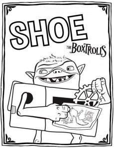coloring boxtrolls shoe