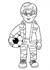 coloring page Brannmann Sam (10)