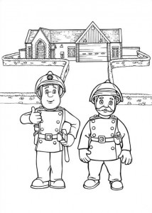 coloring page Brannmann Sam (11)