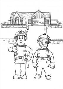 Χρωματίζοντας σελίδα πυροσβέστης Sam (11)