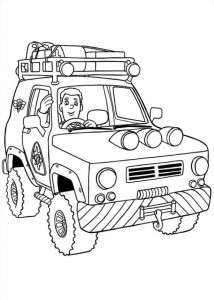 coloring page Brannmann Sam (15)