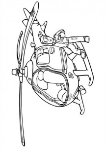 coloring page Brannmann Sam (16)