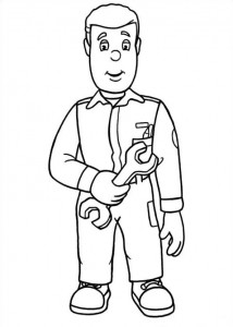 coloring page Brannmann Sam (17)