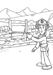 coloring page Brannmann Sam (20)