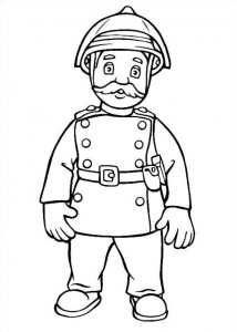 coloring page Brannmann Sam (21)