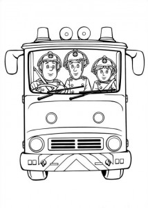 coloring page Brannmann Sam (23)
