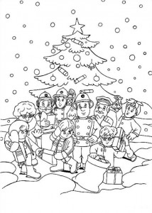 coloring page Brannmann Sam (24)