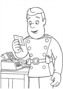 kleurplaat Brandweerman Sam (25)