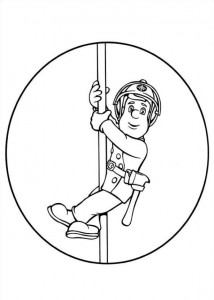 coloring page Brannmann Sam (28)