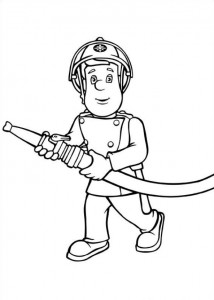 coloring page Brannmann Sam (3)