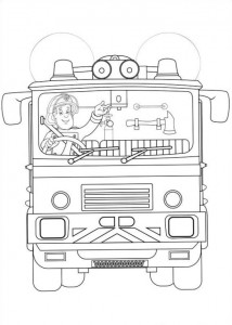 coloring page Brannmann Sam (31)