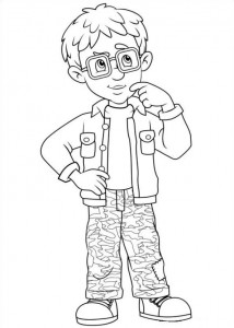 coloring page Brannmann Sam (33)