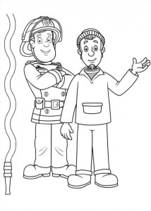 coloring page Brannmann Sam (35)