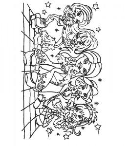Dibujo para colorear Bratz (25)
