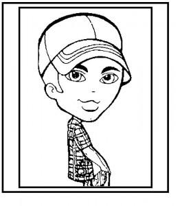 coloring page Bratz Boyz (7)