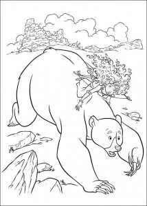 coloring page Brave (12)