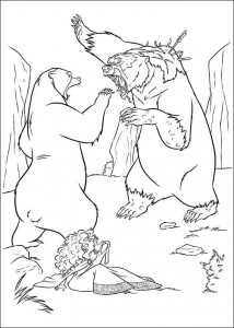 coloring page Brave (15)