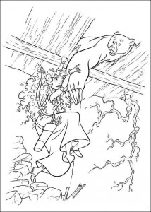 coloring page Brave (18)