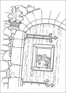 coloring page Brave (22)