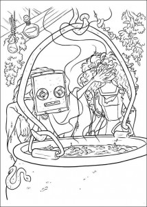 coloring page Brave (26)