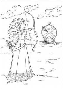 coloring page Brave (27)