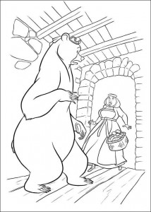 coloring page Brave (29)