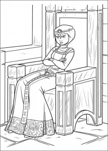 coloring page Brave (30)