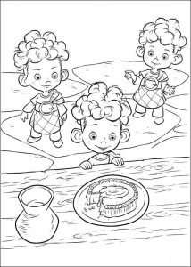 coloring page Brave (32)
