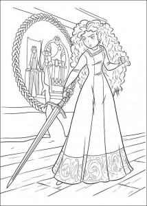 coloring page Brave (34)