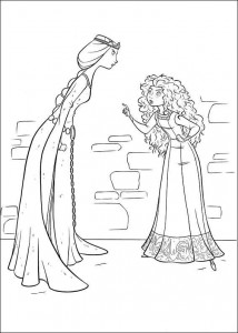 coloring page Brave (36)