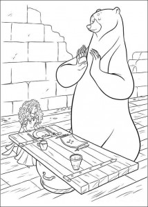 coloring page Brave (38)