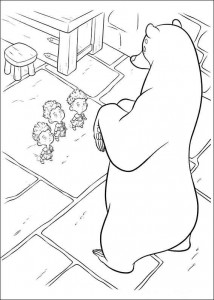 coloring page Brave (39)