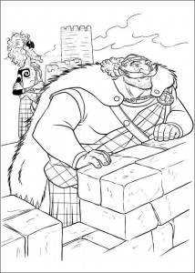 coloring page Brave (42)