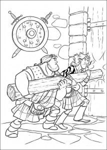 coloring page Brave (43)