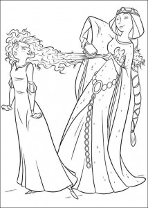 coloring page Brave (45)