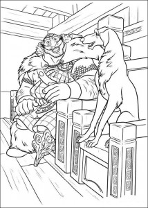 coloring page Brave (46)