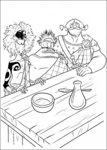 coloring page Brave (49)