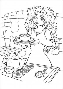 coloring page Brave (50)