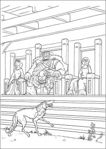 coloring page Brave (51)