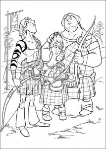 coloring page Brave (53)
