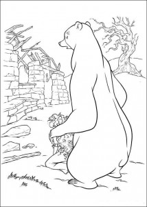 coloring page Brave (54)
